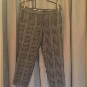 Wool J.Crew skimmer pants